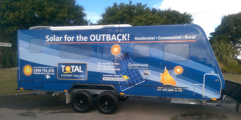 Total Energy Solar Caravan